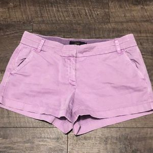J. Crew Light purple Shorts